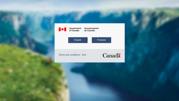 Website de inmigración canadiense