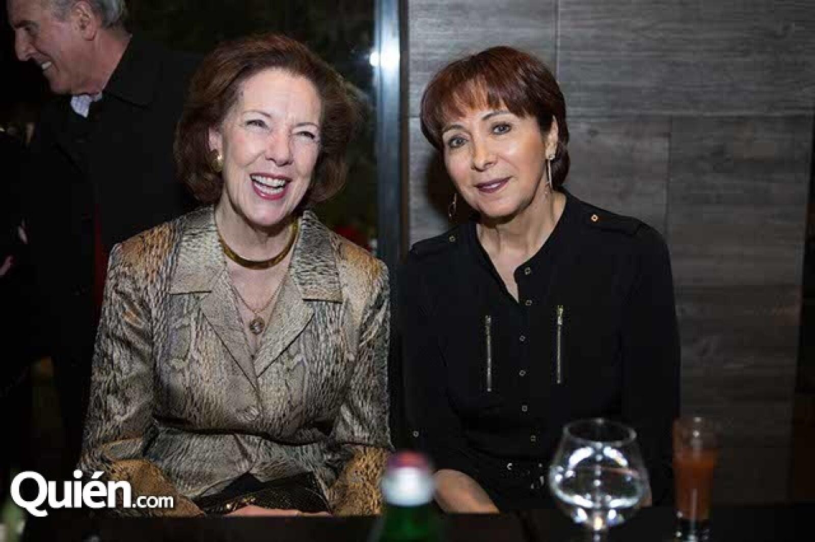Consuela Sainz de Miera y Clara Delgado