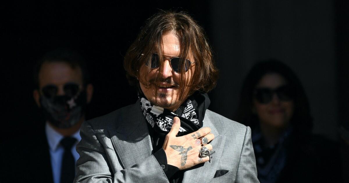British justice turns its back on Johnny Depp against newspaper for defamation