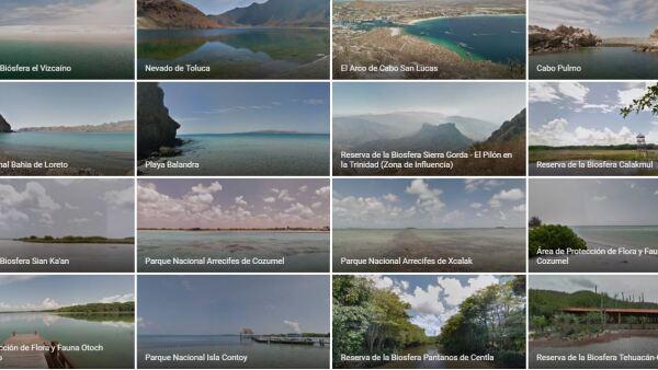 Parques nacionales y áreas protegidas naturales mexicanas
