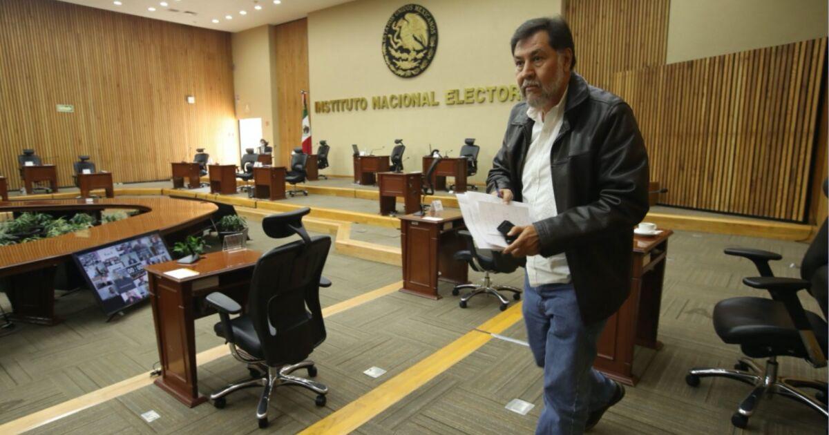El INE resuelve caso de violencia política cometido por Fernández Noroña