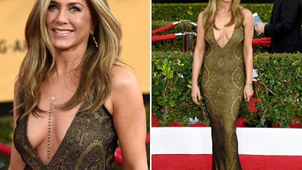 Desde Jennifer Aniston hasta Dakota Johnson, estas famosas robaron las miradas mostrando más piel de la cuenta con sus reveladores atuendos.