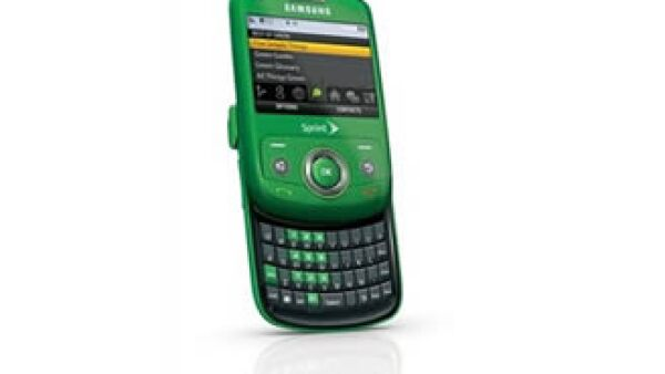 El Samsung Reclaim tiene un tablero desplegable estándar, acceso a correo electrónico e Internet. (Foto: AP)