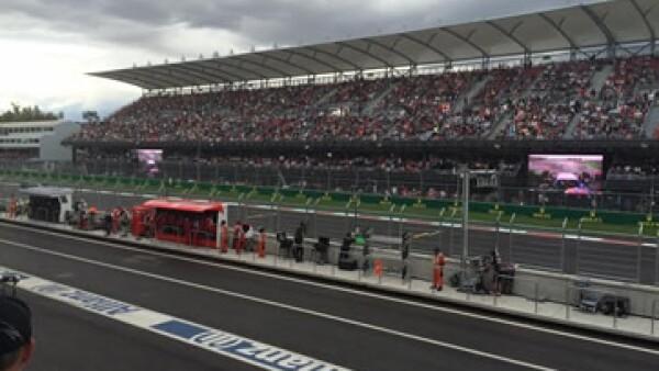 Después de 23 años de ausencia, la Ciudad de México recibió el pasado domingo la Fórmula 1 en el Autódromo Hermanos Rodríguez. (Foto: Melva Navarro)