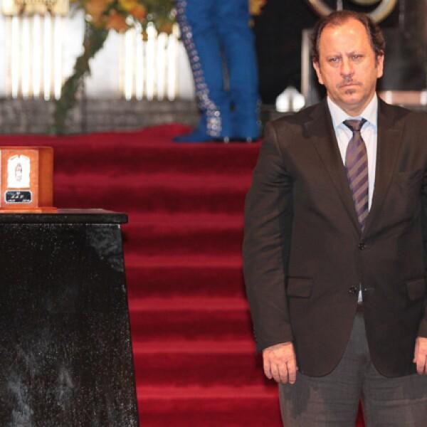 Secretario de Cultura de la Ciudad de México, Eduardo Vázquez.
