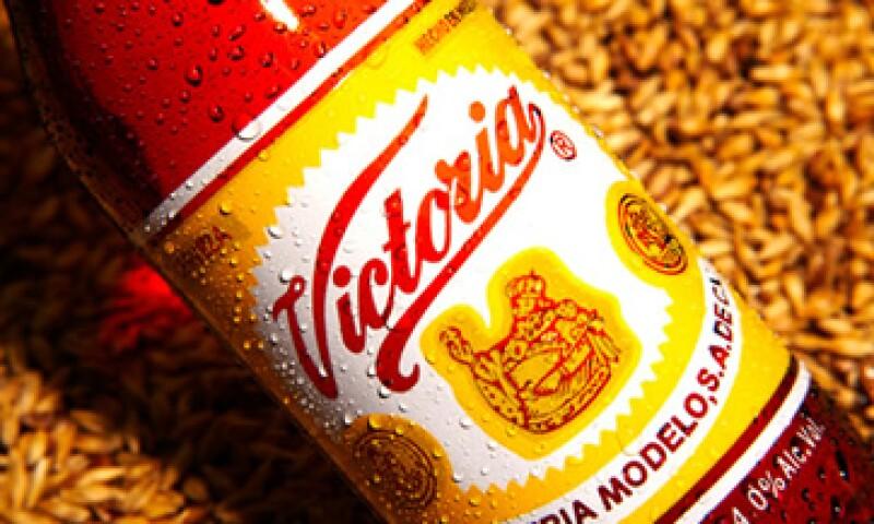 La autoridad europea sí aceptó el registro de Victoria de México para otras categorías de productos, como ropa y servicios de restauración. (Foto: Tomada del sitio web de Grupo Modelo)