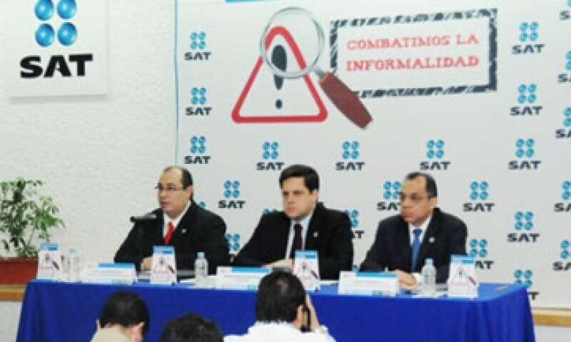 Las autoridades del SAT pretenden evitar que las personas físicas o morales hagan mal uso de su logotipo. (Foto: Cortesía sat.gob.mx )