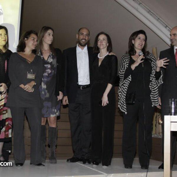 Rosy del Rivero, Alejandra Puron, Martha Contro, Mario y Úrsula Mendoza, Paola Prieto y Ignacio Zorrilla