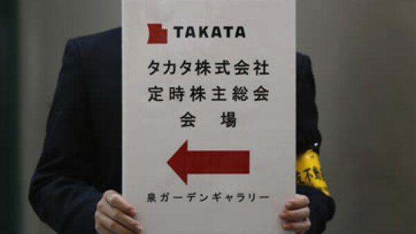 Takata es responsable de 1 de cada 5 bolsas de aire para autos en el mundo. (Foto: Reuters)