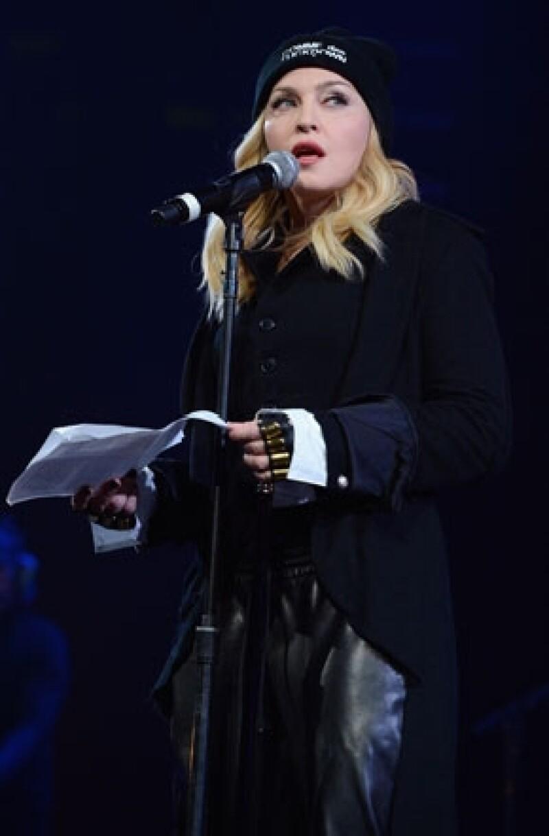 La cantante ha sido vetada de países por mostrar su apoyo a minorías sociales y causas políticas de países como Rusia y Ucrania.