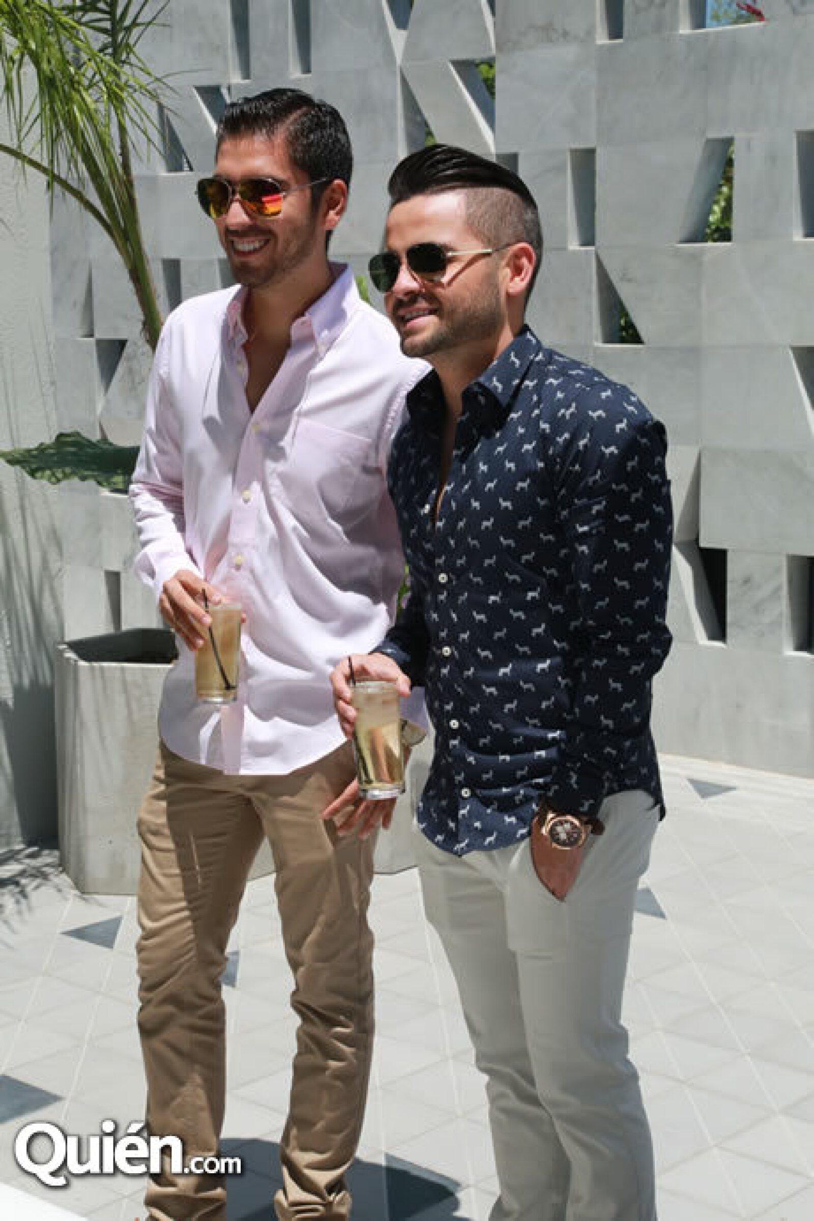 Rodrigo Torres y Charbel Kuri