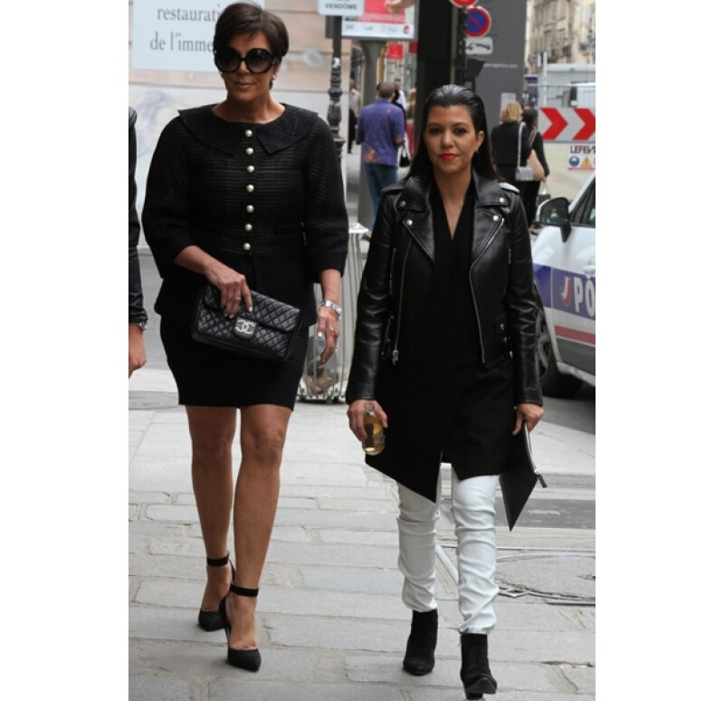 Kris Jenner y Kourtney Kardashian aprovecharon la tarde para ir de compras.