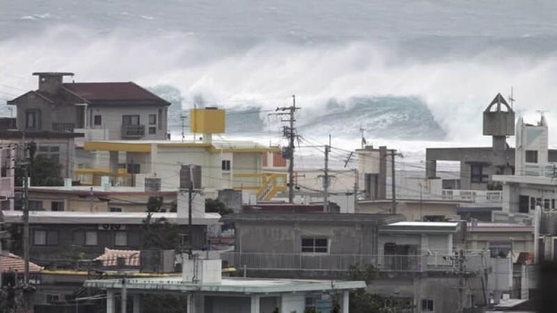Japon tifón Vongfong