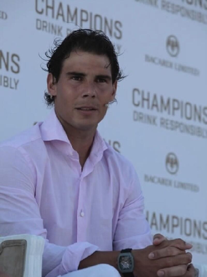 En el marco del Abierto Mexicano Telcel el tenista habló sobre su regreso a las canchas, sus oportunidades para Roland Garros y su papel como embajador de la campaña Champions Drink Responsibly.