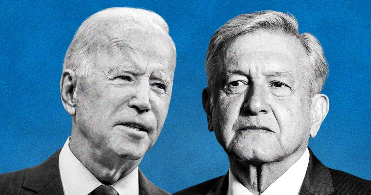 """""""Somos más fuertes si estamos unidos"""", coinciden AMLO y Biden en primera reunión"""
