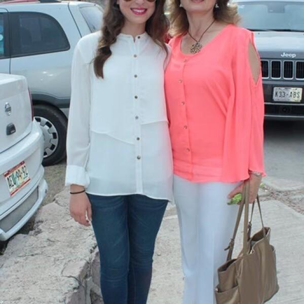 Mariana Muñoz y Georgina González