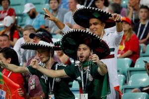 Mexicanos en el España-Portugal