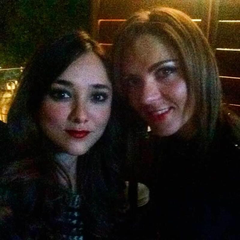 Las actrices pasaron momentos muy divertidos en la fiesta.