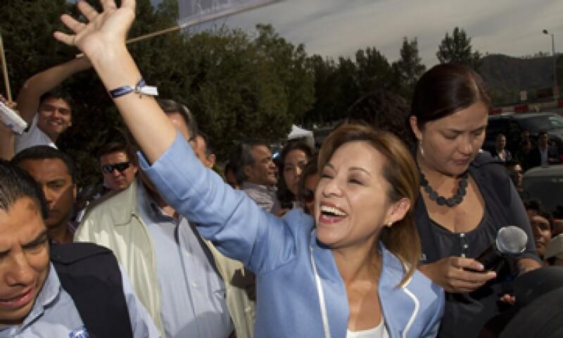 La candidata panista se mantiene en las preferencias de los CEO más importantes de México desde hace seis meses. (Foto: Notimex)