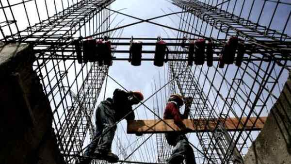 Obreros construcci�n