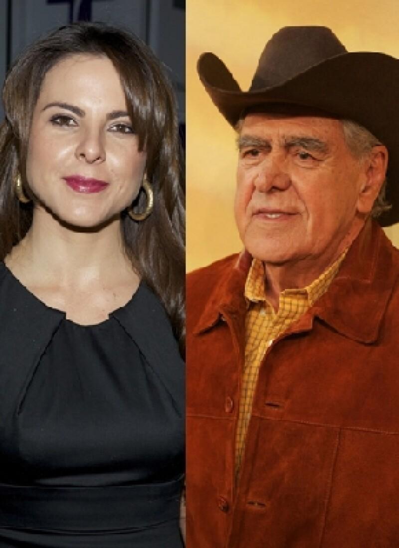 El padre de Kate del Castillo aclaró los rumores sobre una posible separación entre Aarón Díaz y su hija así como las preferencias sexuales de la actriz.
