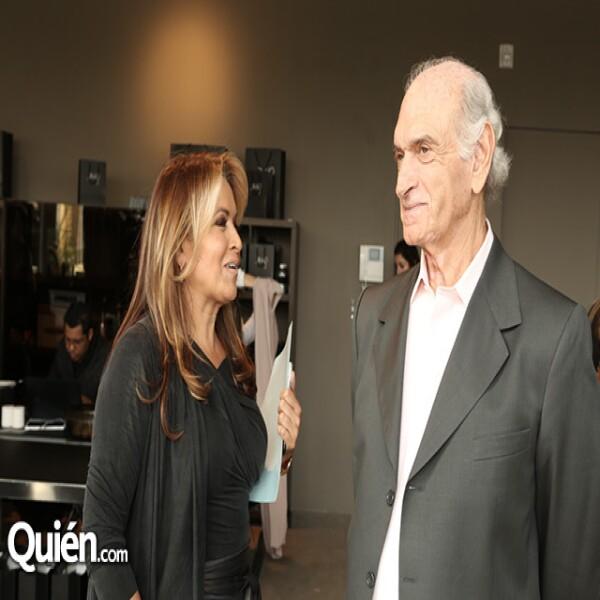 Rosaura Henkel y Nicolás Saad