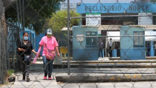 reclusorios coronavirus mexico