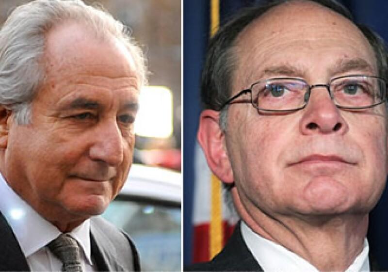 Irving Picard (der) es el fideicomisario encargado del fraude Madoff. (Foto: CNNMoney)