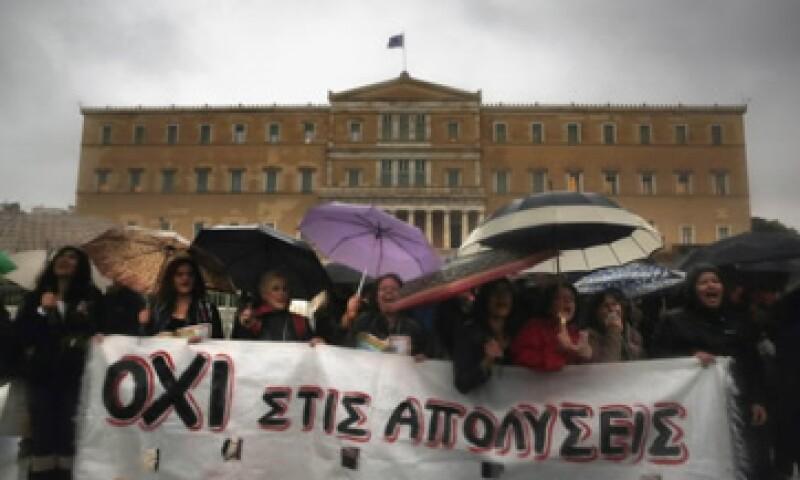 La huelga en Grecia afecta los servicios aéreos y la actividad en las escuelas. (Foto: Reuters)