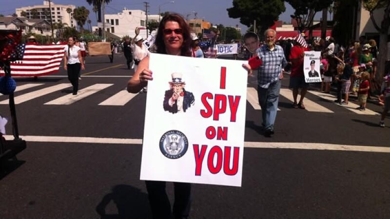 Snowden, NSA, protestas