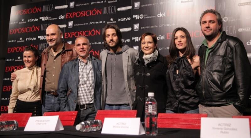 El actor mexicano regresa a los escenarios, pero esta vez como productor, de una obra a la que define de calidad.