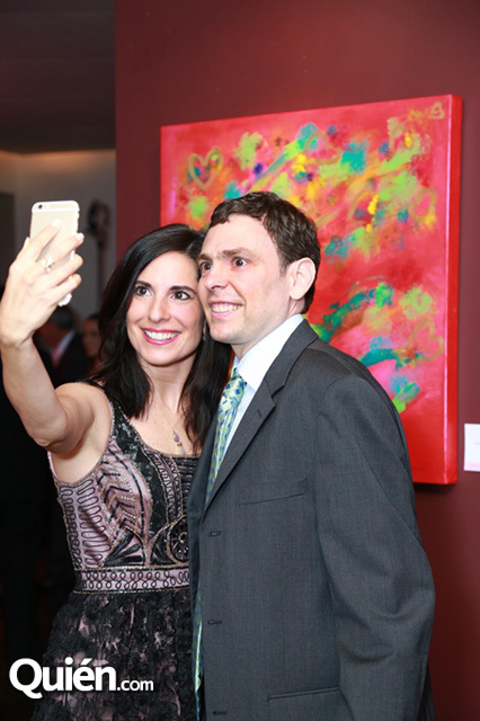 Nancy Aubert y Juan Carlos Treviño