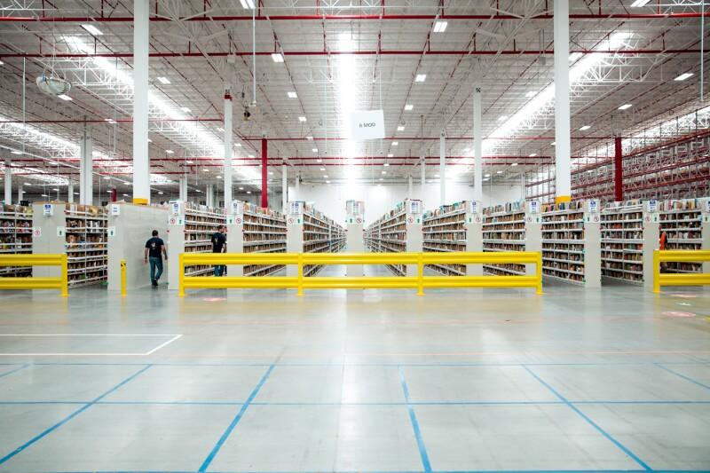 Centro de distribución Amazon