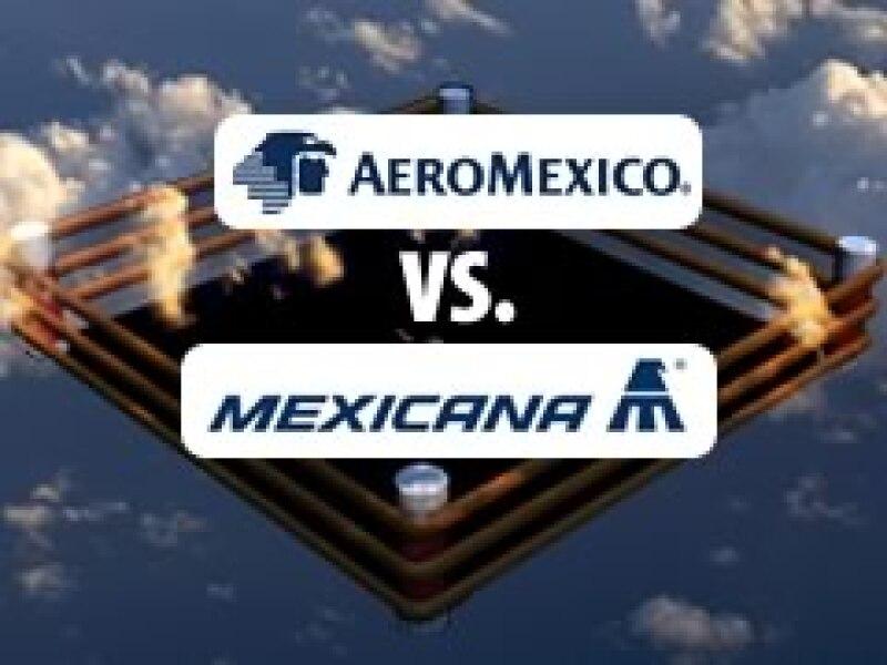 Las dos aerolíneas buscan mayor mercado tras la caída de algunas compañías de bajo costo. (Foto: Expansión)