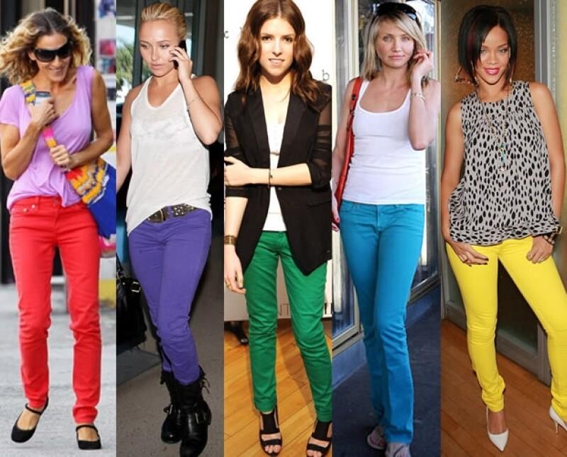 Aquí Sarah Jessica Parker, Hayden Panettiere, Anna Kendrick, Cameron Diaz y Rihanna.