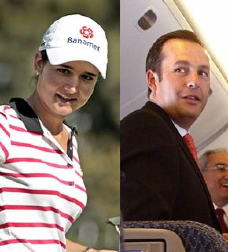 Andrés Conesa le dio el anillo a la golfista durante las vacaciones que pasaron en Europa el mes pasado y la pareja ya le puso fecha a la boda.