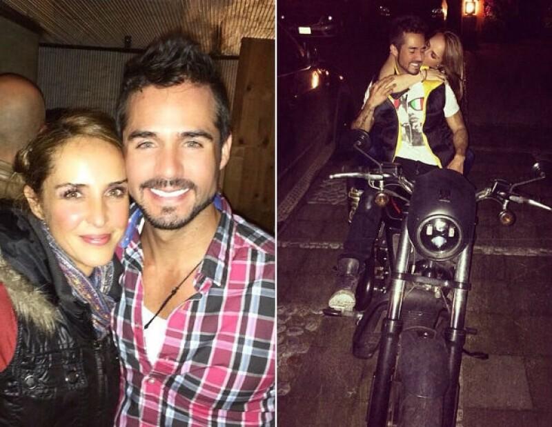 José Ron e Irán Castillo viven el segundo mes de su relación.