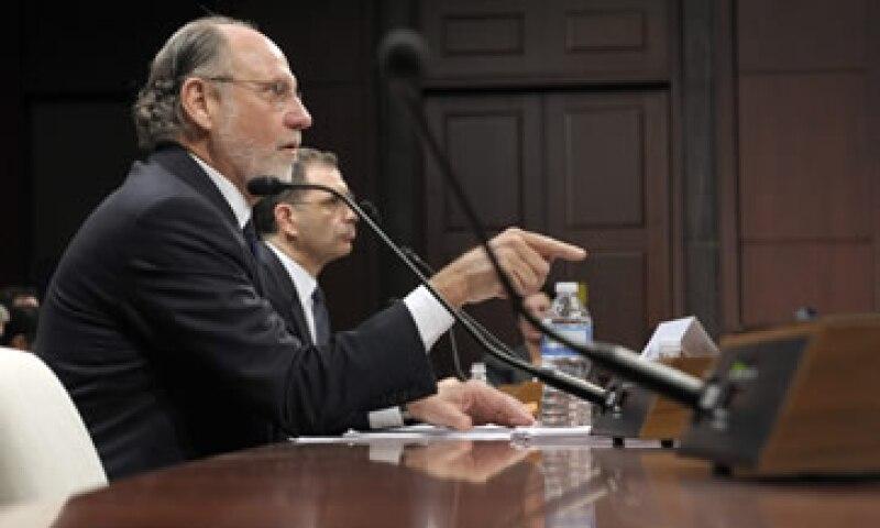 MF Global se declaró en bancarrota el 31 de octubre en 2011 después de haber perdido unos 6,300 millones de dólares. (Foto: AP)