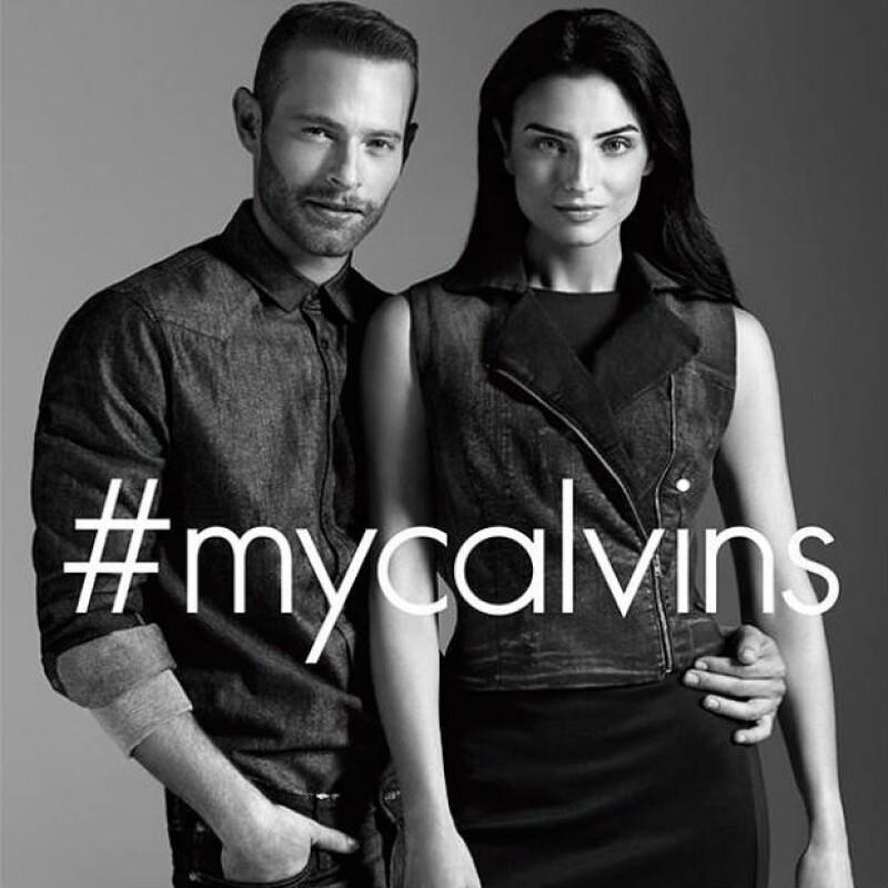 Los actores son la figura central de la campaña #MyCalvins que se lanza en México y para la cual modelaron los nuevos diseños de la marca.