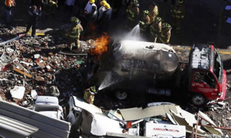 La explosión ocurrida el 29 de enero dejó 5 muertos y más de 70 heridos. (Foto: Cuartoscuro )