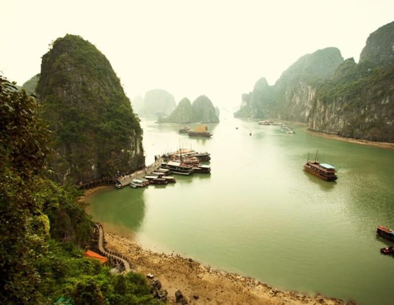 El paisaje de Vietnam es incomparable.