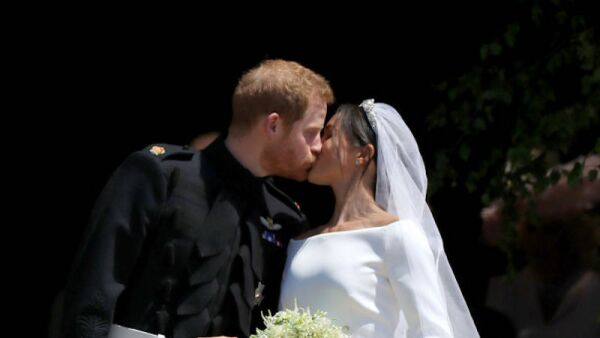 Meghan y Harry esposos