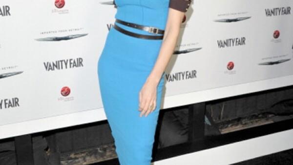 Victoria Beckham es la reina de la silueta recta.