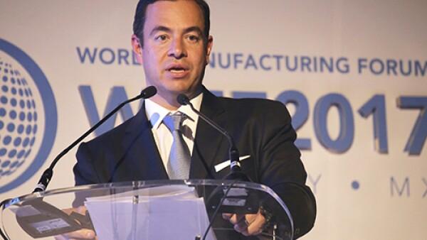 Paulo Carre�o King, director de ProM�xico