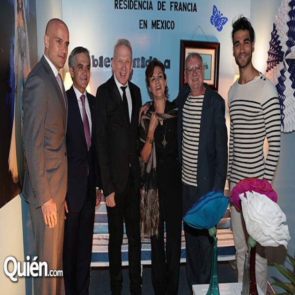 Manuel Rivera,Miguel Ángel Mancera,Jean Paul Gaultier,Elisabeth Beton,Yves Beton