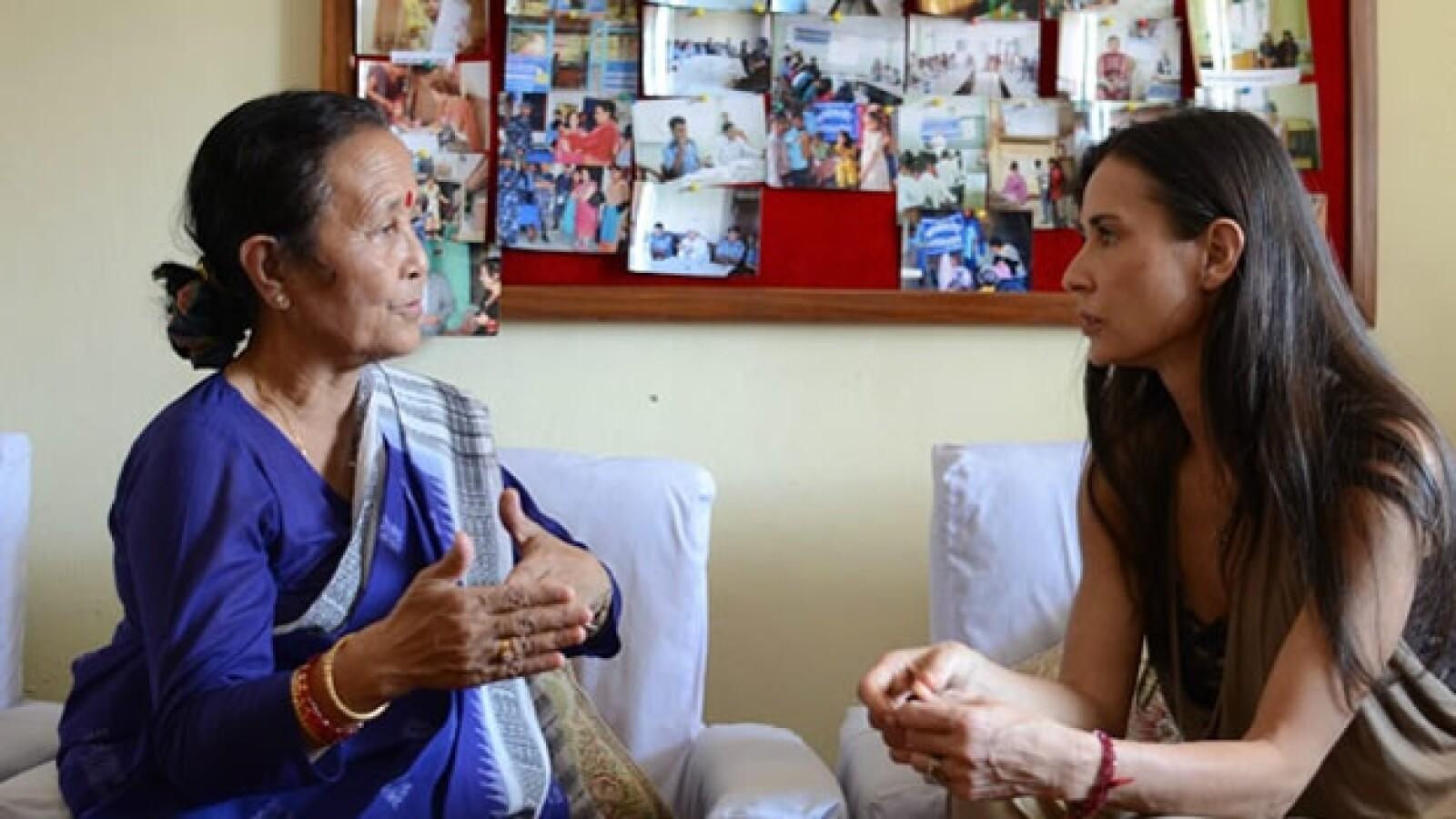 Proyecto Libertad - Anuradha Koirala - Demi Moore