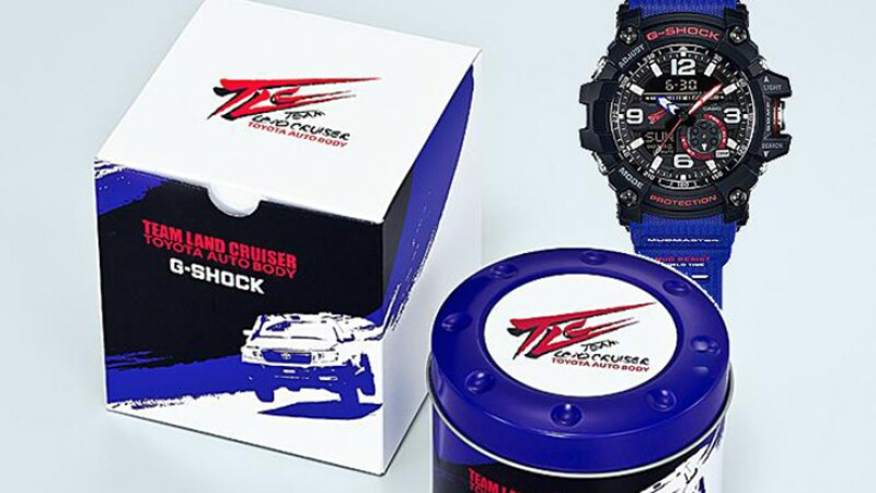G-Shock y Toyota