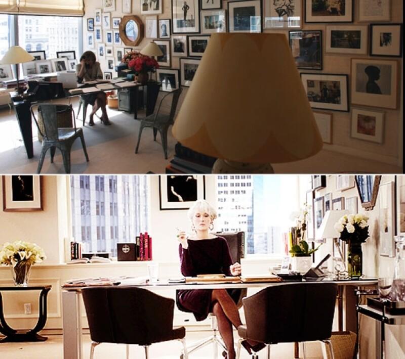 """Aquí algunas similitudes y curiosidades entre las dos divas de la moda. Ambas poderosas editoras, Wintour de &#39Vogue&#39 y Miranda, de """"Runway"""", la historia de ficción en """"Devil Wears Prada""""."""