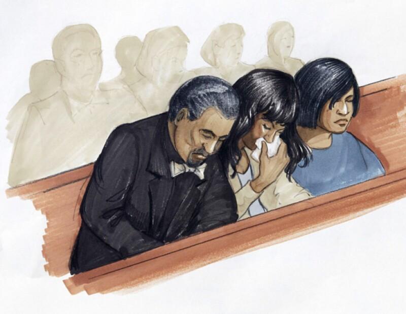 William Balfour fue encontrado responsable por un jurado de Chicago, el viernes, de matar a la madre, el hermano y el sobrino de 7 años de la actriz y cantante.