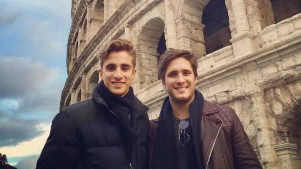 Diego Boneta y su hermano Santiago
